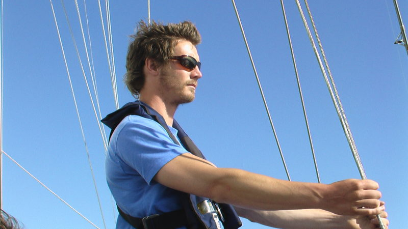 Men's sail training in the gulf islands
